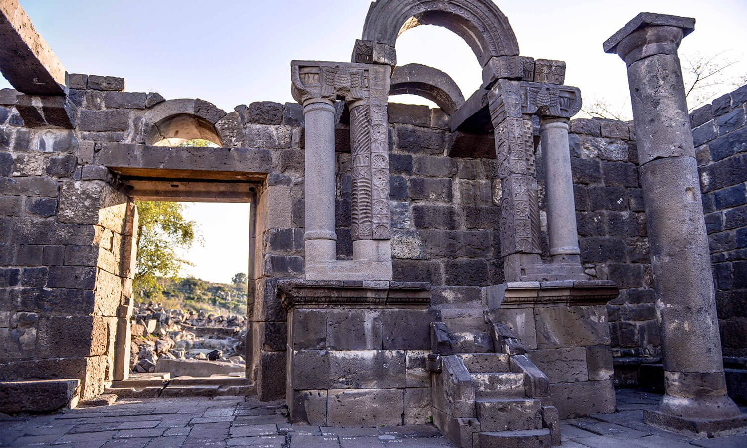 Ancient synagogue stands again