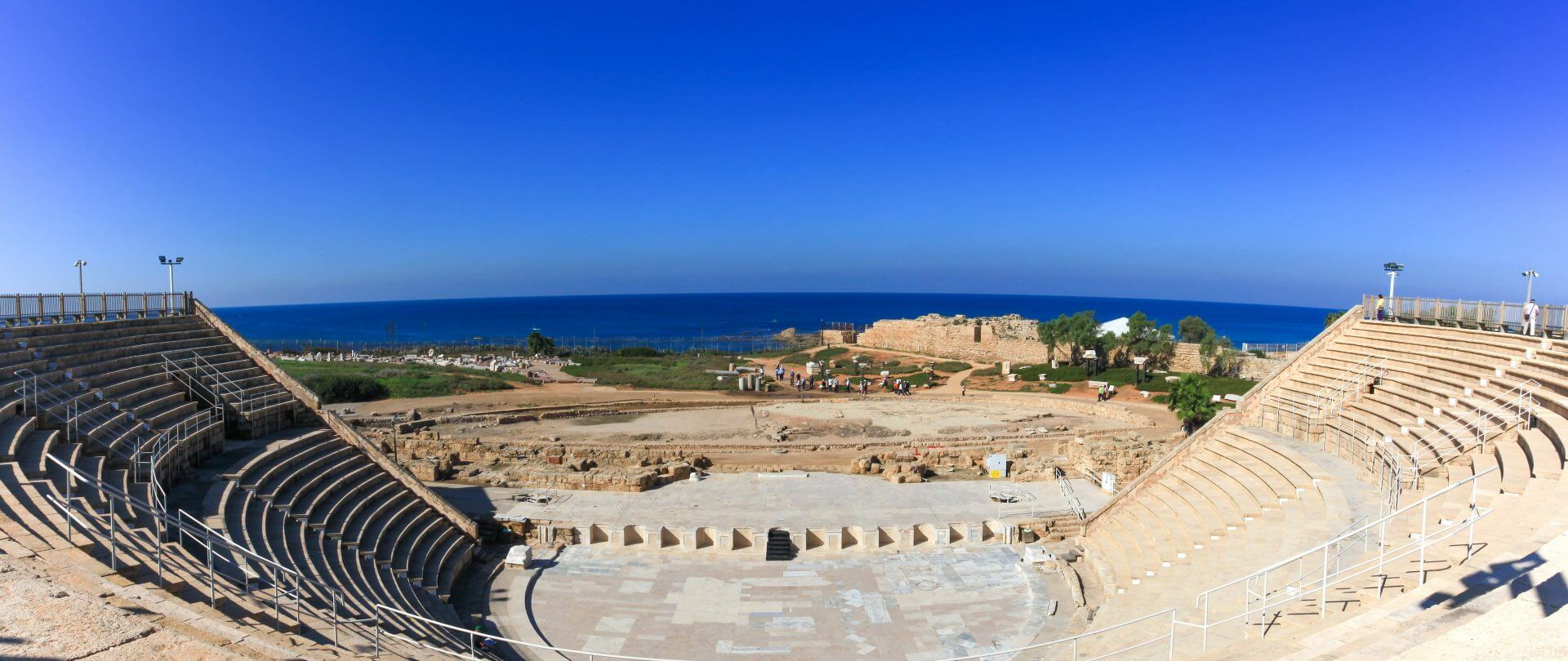 Roman amphitheater built in the times of King Herodes.
