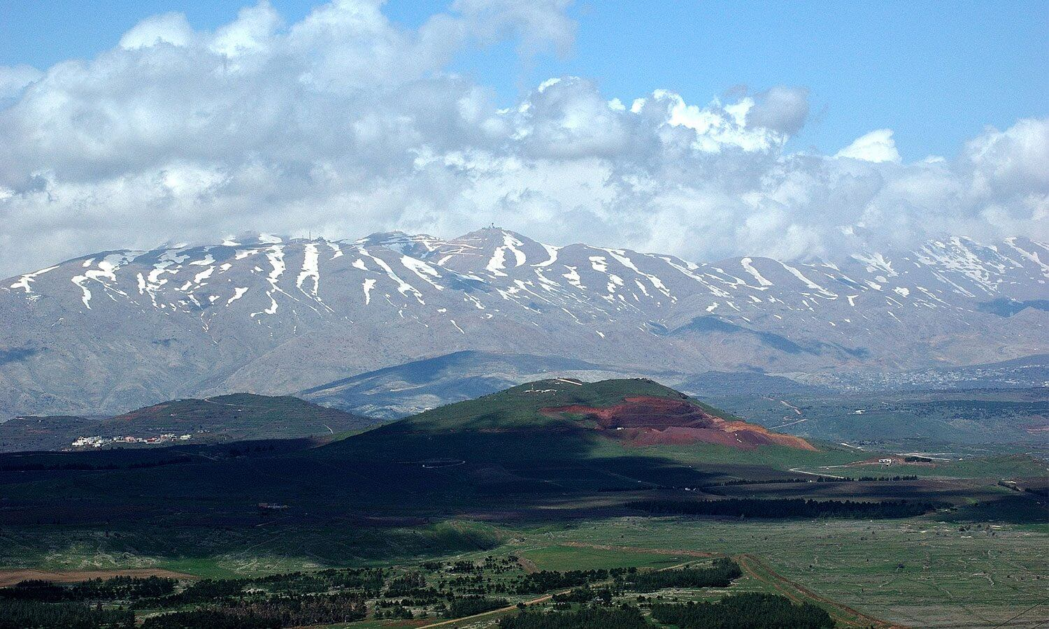 Golan Heights and Upper Galilee