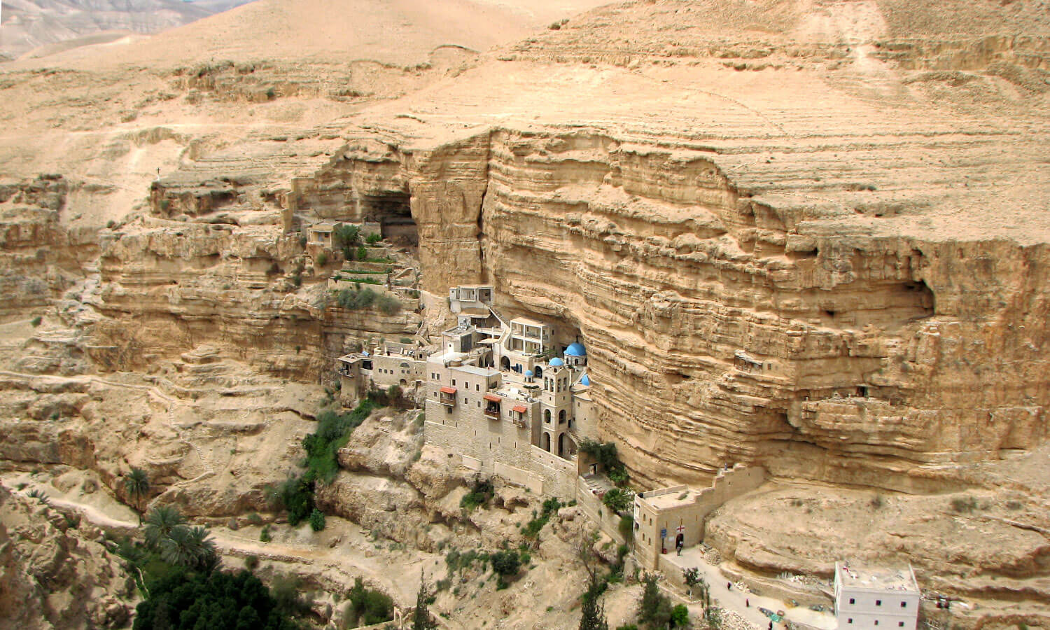 St George's Monastery at Wadi Qelt