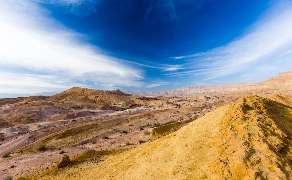 500px Photo ID: 149362261 - Makhtesh Ramon colorful sandstone